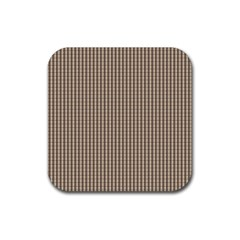 Pattern Background Stripes Karos Rubber Square Coaster (4 Pack)  by Nexatart