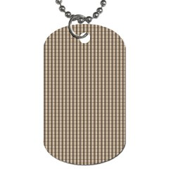 Pattern Background Stripes Karos Dog Tag (two Sides)