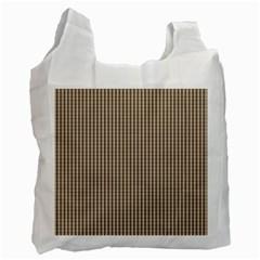 Pattern Background Stripes Karos Recycle Bag (two Side)  by Nexatart