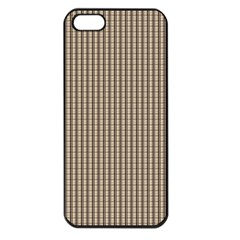 Pattern Background Stripes Karos Apple Iphone 5 Seamless Case (black) by Nexatart
