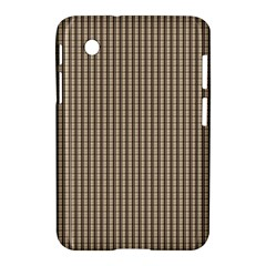 Pattern Background Stripes Karos Samsung Galaxy Tab 2 (7 ) P3100 Hardshell Case  by Nexatart