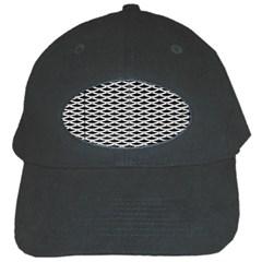 Expanded Metal Facade Background Black Cap by Nexatart