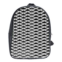 Expanded Metal Facade Background School Bags(large)  by Nexatart