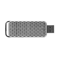 Expanded Metal Facade Background Portable Usb Flash (two Sides) by Nexatart