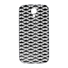 Expanded Metal Facade Background Samsung Galaxy S4 I9500/i9505  Hardshell Back Case