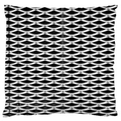 Expanded Metal Facade Background Standard Flano Cushion Case (two Sides) by Nexatart