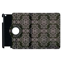 Line Geometry Pattern Geometric Apple Ipad 3/4 Flip 360 Case by Nexatart