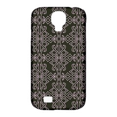 Line Geometry Pattern Geometric Samsung Galaxy S4 Classic Hardshell Case (pc+silicone)