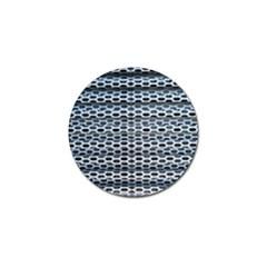Texture Pattern Metal Golf Ball Marker by Nexatart