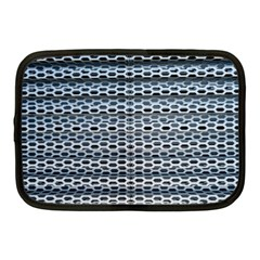 Texture Pattern Metal Netbook Case (medium)  by Nexatart