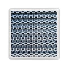 Texture Pattern Metal Memory Card Reader (square)  by Nexatart