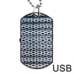 Texture Pattern Metal Dog Tag Usb Flash (one Side) by Nexatart