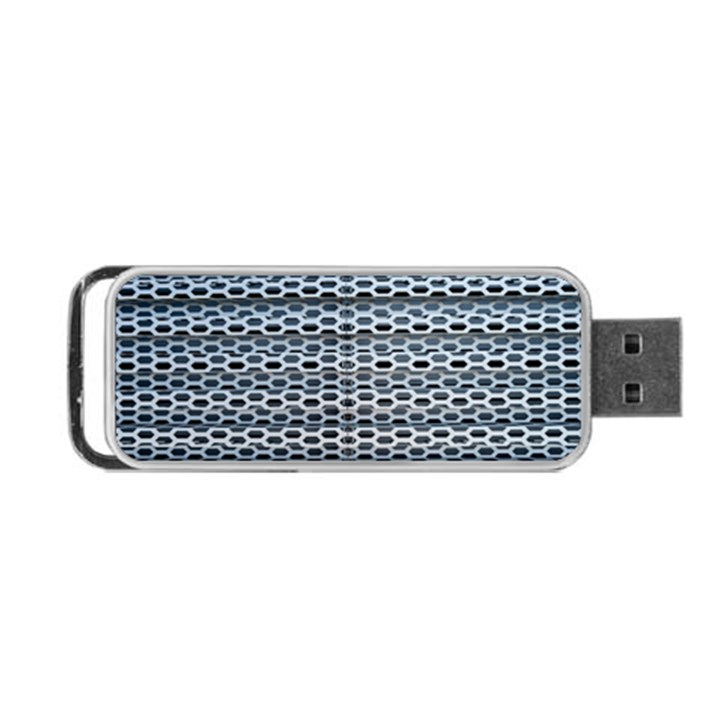 Texture Pattern Metal Portable USB Flash (Two Sides)