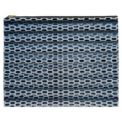 Texture Pattern Metal Cosmetic Bag (xxxl)
