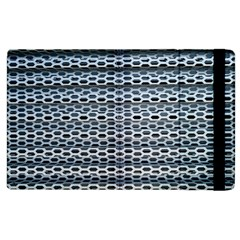 Texture Pattern Metal Apple Ipad 2 Flip Case by Nexatart