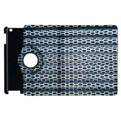 Texture Pattern Metal Apple Ipad 3/4 Flip 360 Case by Nexatart
