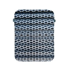 Texture Pattern Metal Apple Ipad 2/3/4 Protective Soft Cases by Nexatart