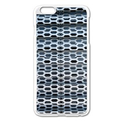 Texture Pattern Metal Apple Iphone 6 Plus/6s Plus Enamel White Case by Nexatart