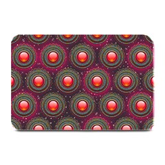 Abstract Circle Gem Pattern Plate Mats