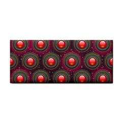 Abstract Circle Gem Pattern Cosmetic Storage Cases by Nexatart