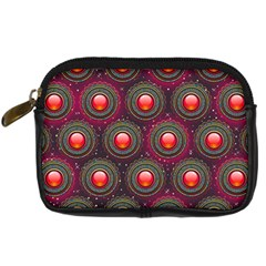 Abstract Circle Gem Pattern Digital Camera Cases