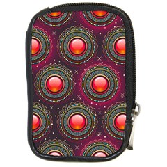 Abstract Circle Gem Pattern Compact Camera Cases by Nexatart
