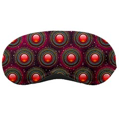 Abstract Circle Gem Pattern Sleeping Masks by Nexatart