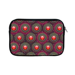 Abstract Circle Gem Pattern Apple Ipad Mini Zipper Cases by Nexatart