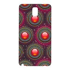 Abstract Circle Gem Pattern Samsung Galaxy Note 3 N9005 Hardshell Back Case