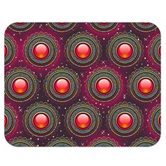 Abstract Circle Gem Pattern Double Sided Flano Blanket (medium)  by Nexatart