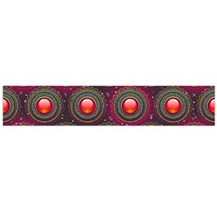 Abstract Circle Gem Pattern Flano Scarf (large)