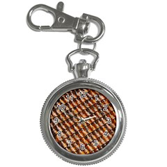 Dirty Pattern Roof Texture Key Chain Watches by Nexatart