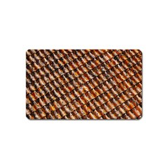 Dirty Pattern Roof Texture Magnet (name Card) by Nexatart