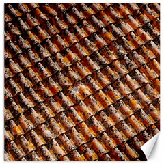 Dirty Pattern Roof Texture Canvas 12  X 12   by Nexatart