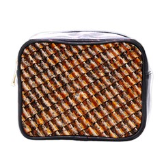 Dirty Pattern Roof Texture Mini Toiletries Bags