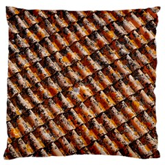 Dirty Pattern Roof Texture Large Cushion Case (one Side)