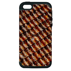 Dirty Pattern Roof Texture Apple Iphone 5 Hardshell Case (pc+silicone) by Nexatart