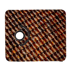 Dirty Pattern Roof Texture Galaxy S3 (flip/folio) by Nexatart