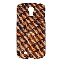 Dirty Pattern Roof Texture Samsung Galaxy S4 I9500/i9505 Hardshell Case by Nexatart
