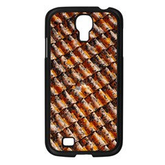 Dirty Pattern Roof Texture Samsung Galaxy S4 I9500/ I9505 Case (black) by Nexatart