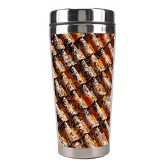 Dirty Pattern Roof Texture Stainless Steel Travel Tumblers by Nexatart