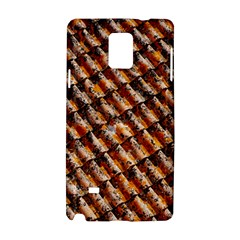 Dirty Pattern Roof Texture Samsung Galaxy Note 4 Hardshell Case