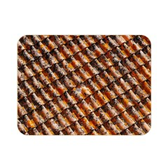 Dirty Pattern Roof Texture Double Sided Flano Blanket (mini)  by Nexatart