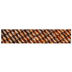 Dirty Pattern Roof Texture Flano Scarf (small) by Nexatart