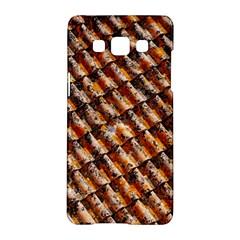 Dirty Pattern Roof Texture Samsung Galaxy A5 Hardshell Case  by Nexatart