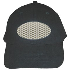 Background Website Pattern Soft Black Cap by Nexatart