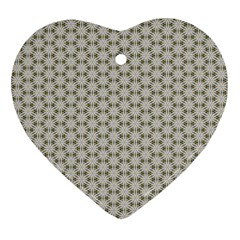 Background Website Pattern Soft Heart Ornament (two Sides)