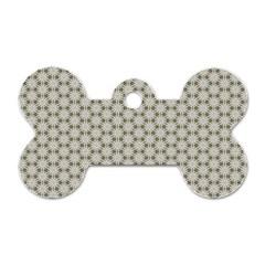 Background Website Pattern Soft Dog Tag Bone (two Sides) by Nexatart