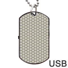 Background Website Pattern Soft Dog Tag Usb Flash (one Side) by Nexatart