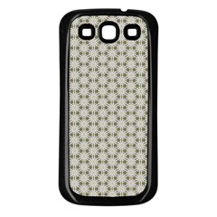 Background Website Pattern Soft Samsung Galaxy S3 Back Case (black)